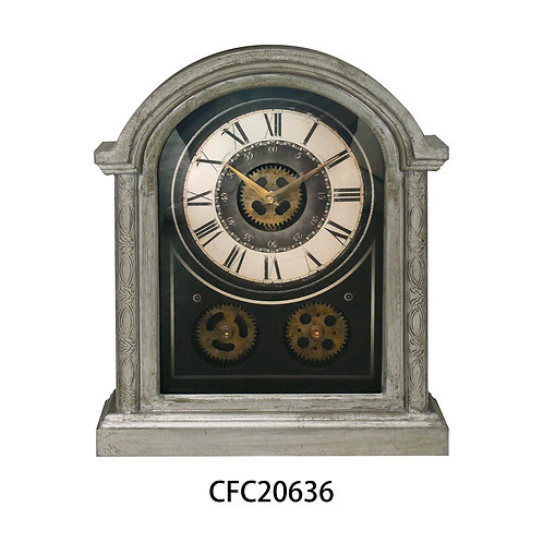 40CM TABLE GEAR CLOCK