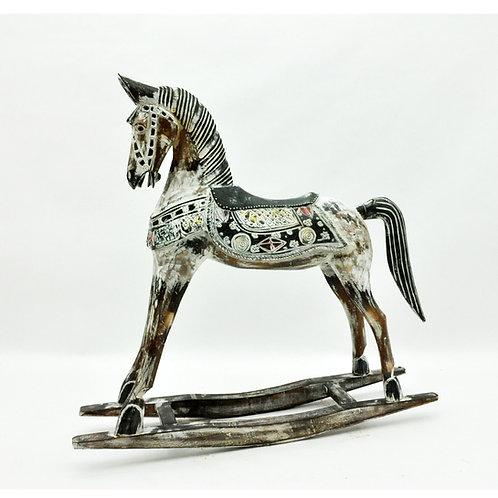 45 cm WOODEN HORSE