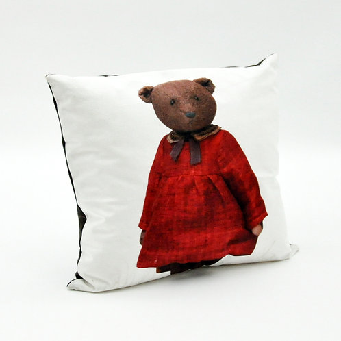 45 X 45 TEDDY BEAR  CUSHION