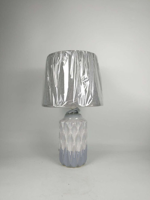 43CM HAND FINISHED LAMP AND SHADE