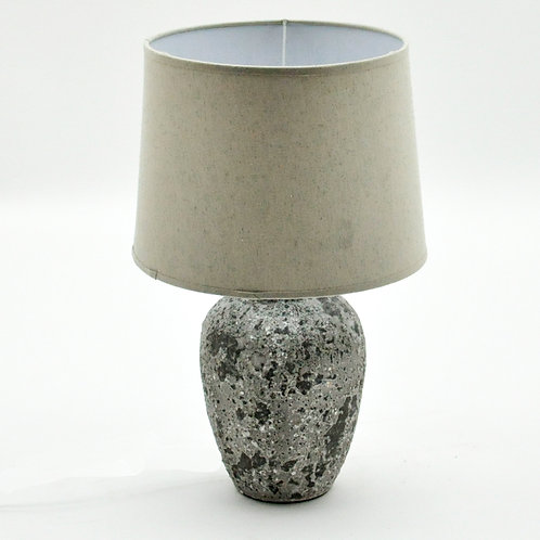22.5CM RUSTIC LAMP AND SHADE