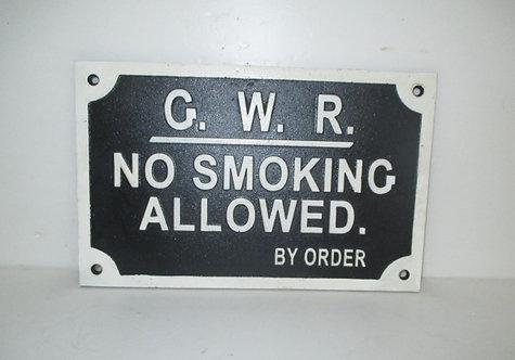 30X20CM GWR NO SMOKING SIGN