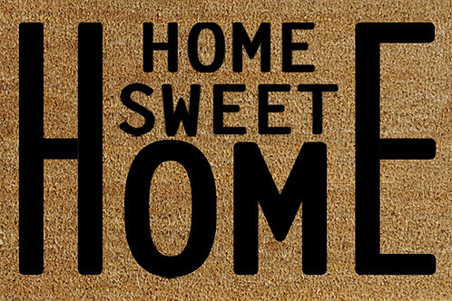 40 X 60 HOME SWEET HOME DOORMAT