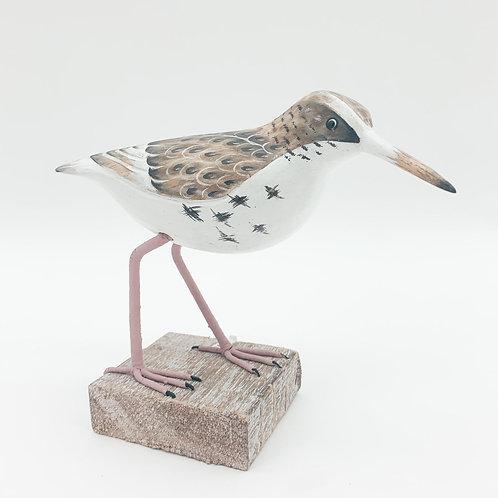 18CM WOODEN BIRD