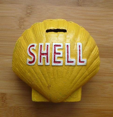 H 14cm W 14cm D 8cm SHELL BANK