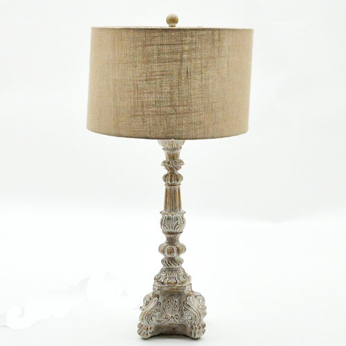 "33.5"" TABLE LAMP AND SHADE"