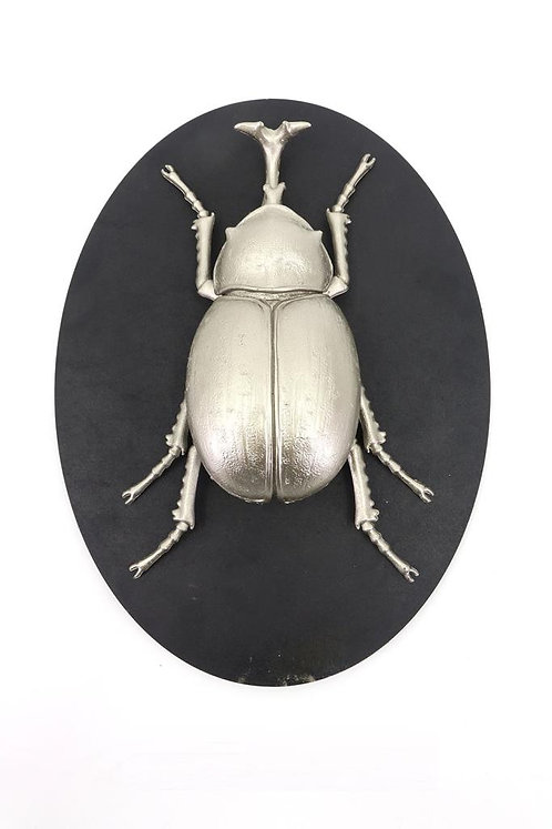 33CM INSECT WALL DECOR ON WOOD BOARD