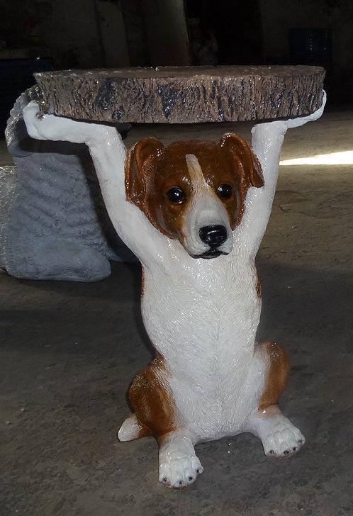 50CM RESIN DOG TABLE