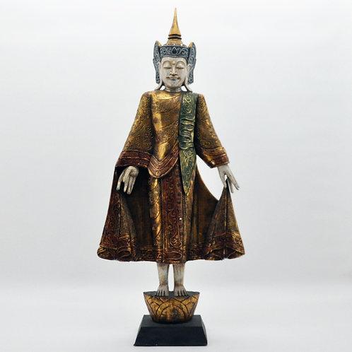120CM RED BUDDHA