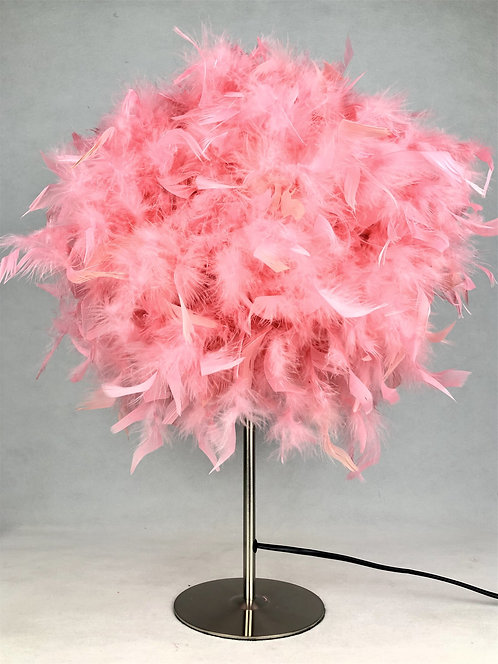 60CM PINK TABLE LAMP
