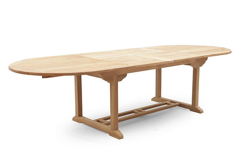 240CM OVAL EXTENDING TABLE