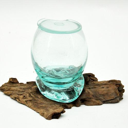 TEAK ROOT GLASS JAR