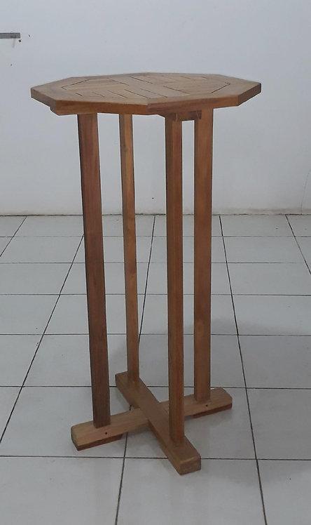 110CM OCTAGONAL BAR TABLE