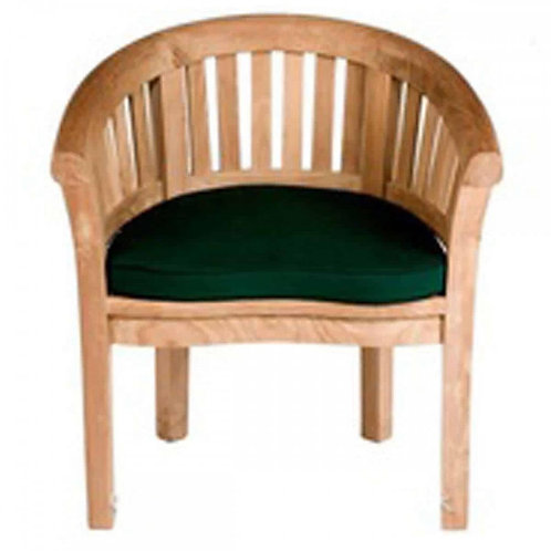 PEANUT CHAIR 5820 GREEN CUSHION