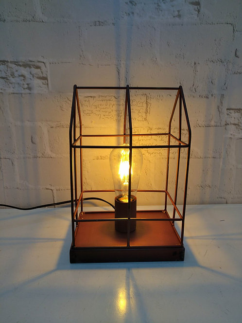 20X15X30CM TABLE LAMP WITH BULB