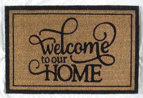 40 x 60 WELCOME HOME DOOR MAT