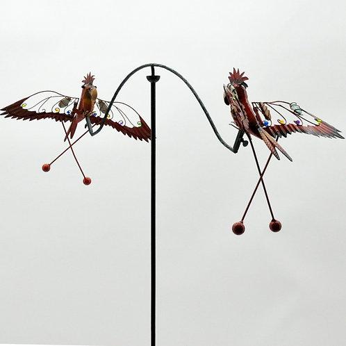 "47"" BIRD GARDEN SPINNER"