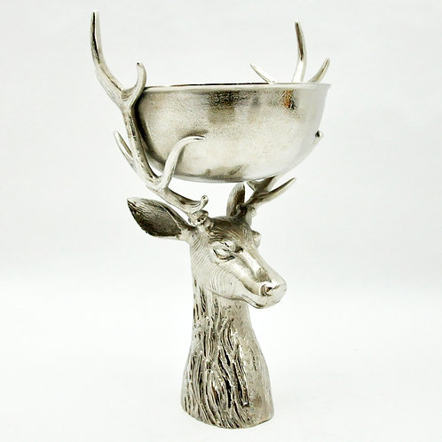 """23"""" STAG HEAD CHAMPAGNE BOWL"""