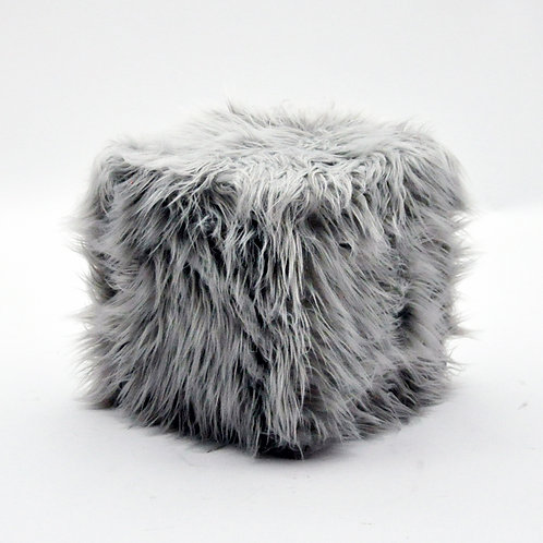 38X38CM SQUARE FLUFFY STOOL