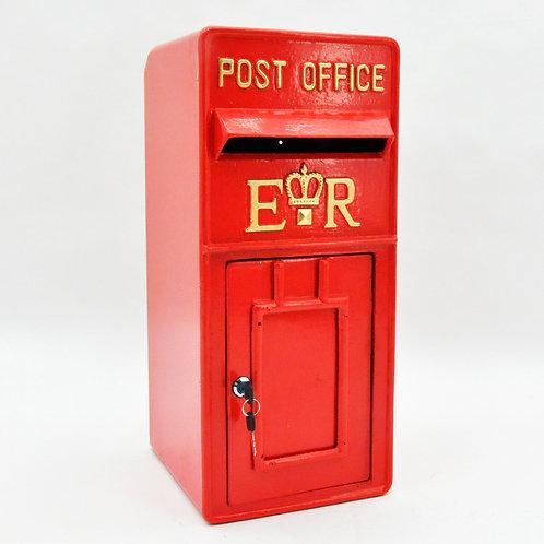 60CM RED UK POST BOX