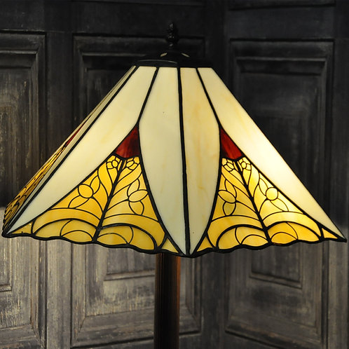 "18"" SHADE STANDARD TIFFANY LAMP"