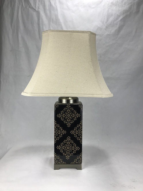 48CM LAMP AND SHADE