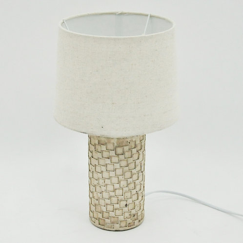 LAMP AND SHADE 38cm
