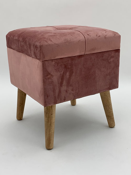 PINK WOODEN TRUNK