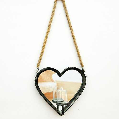 HANGING HEART  H 30 cm W 30 cm D 10 cm