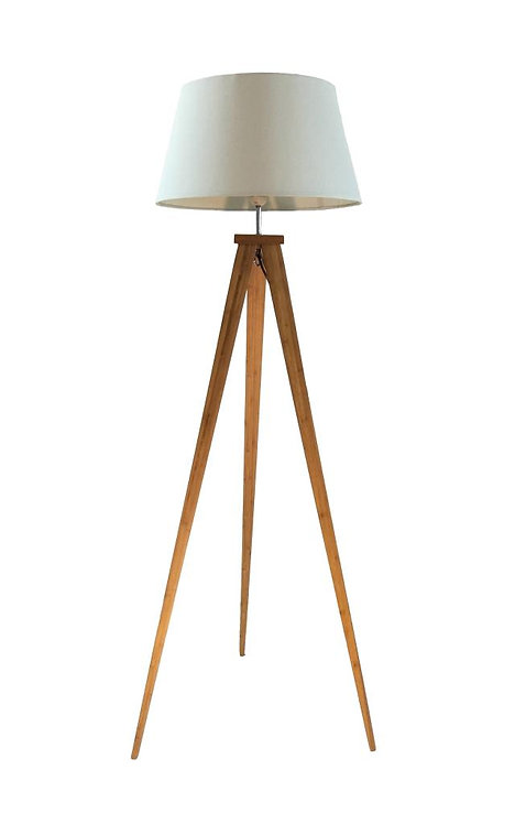 153CM NATURAL FLOOR STANDING TRIPOD LAMP