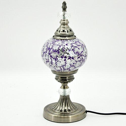 PURPLE CRAFT TABLE LAMP