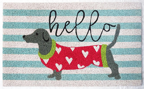 40 X 60 HELLO DOG DOORMAT