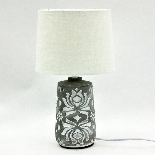 LAMP AND SHADE 31cm