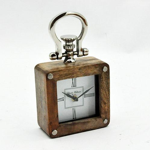 TABLE CLOCK 23x11x7cm
