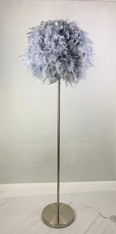 150CM GREY STANDARD LAMP