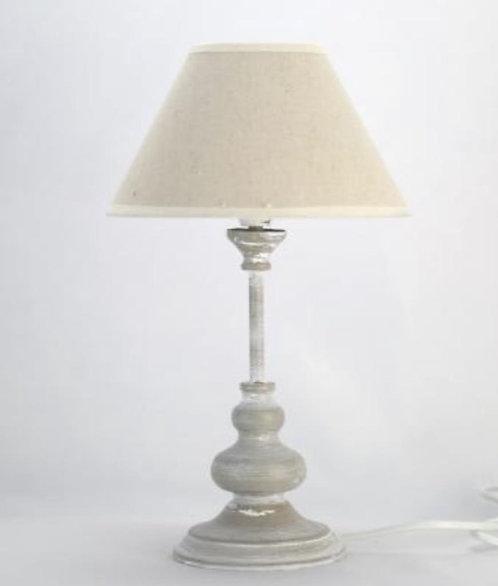 33CM LIGHT GREY TABLE LAMP
