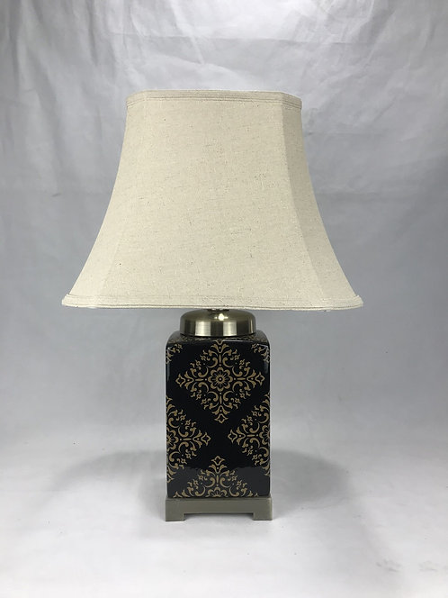 37CM LAMP AND SHADE