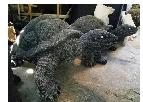 130CM FIBRE GLASS TURTLE