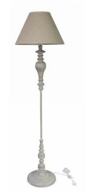 155CM LIGHT GREY FLOOR LAMP