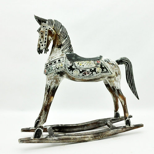 60cm WOODEN HORSE