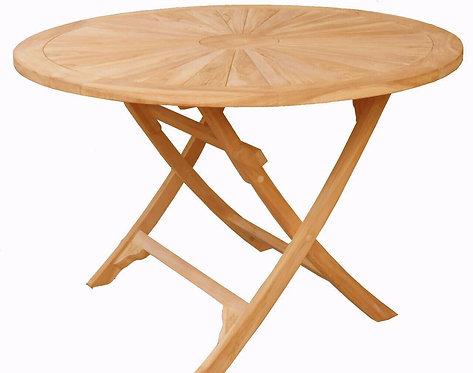 120CM SUN ROUND FOLDING TABLE