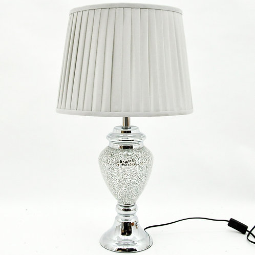 66x38x38CM CRACKLE GLASS LAMP AND SHADE