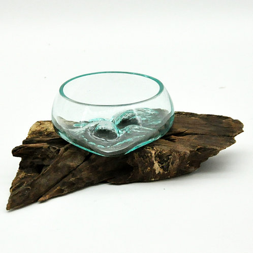 #1 XXXS TEAK ROOT BLOWN GLASS