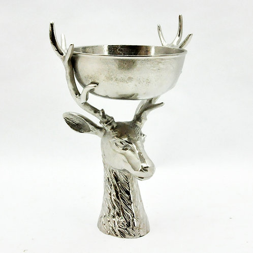 "19"" STAG HEAD CHAMPAGNE BOWL"