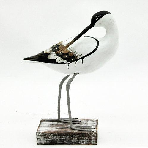 AVOCET PREENING BIRD 28x25sx8cm