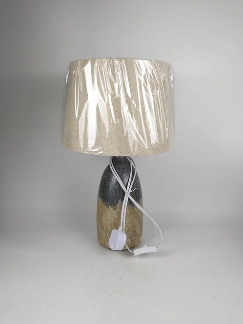 51CM RUSTIC  LAMP AND SHADE