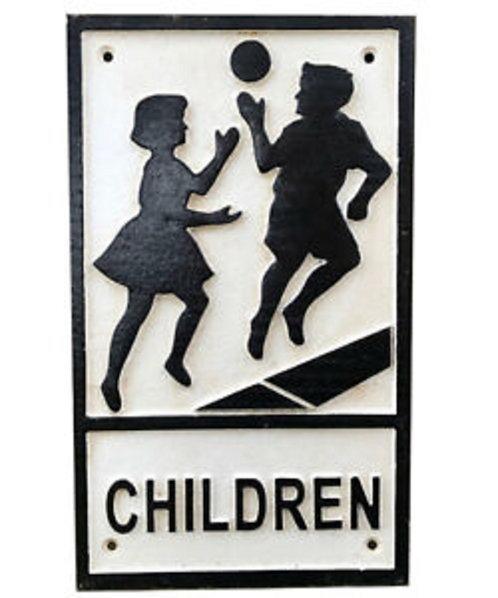 31CM CHILDREN SIGN