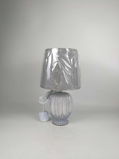 38CM HAND FINISHED LAMP AND SHADE