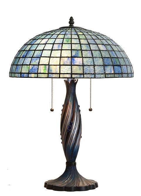 "16"" TIFFANY LAMP 56x41x41cm"