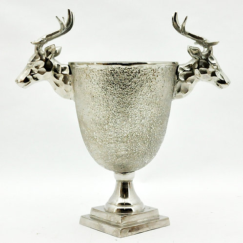 "20"" STAG HEAD CHAMPAGNE BUCKET"